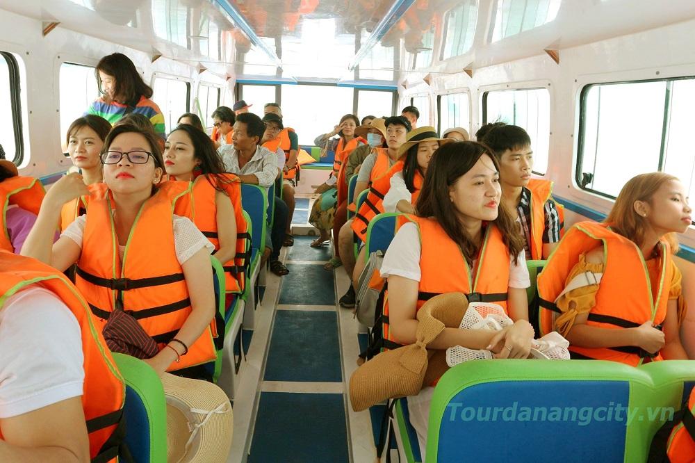 Hình ảnh : Cano Siêu Tốc trong Tour Cù Lao Chàm