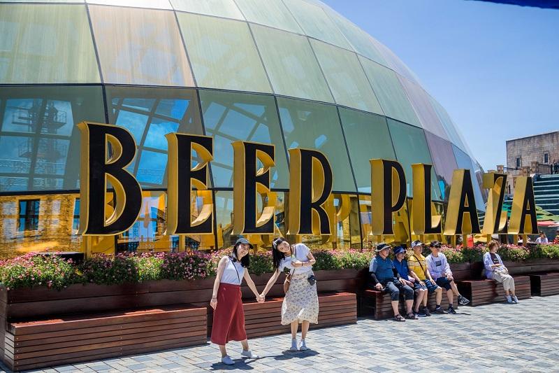Beer Palaza là nhà hàng Buffet 5 sao thiết kế độc đáo và hiện đại