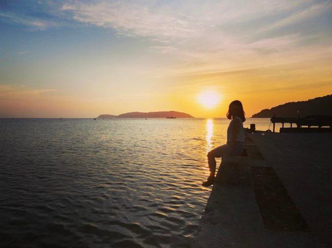 Đón bình minh trên đảo Cù Lao Chàm