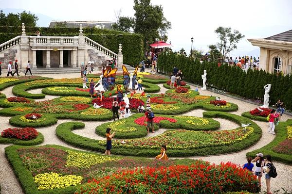 Vườn hoa bà nà Hills