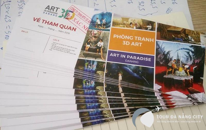 vé bảo tàng tranh 3d đà nẵng