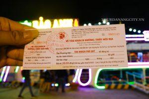 Giá vé du thuyền sông Hàn Đà Nẵng