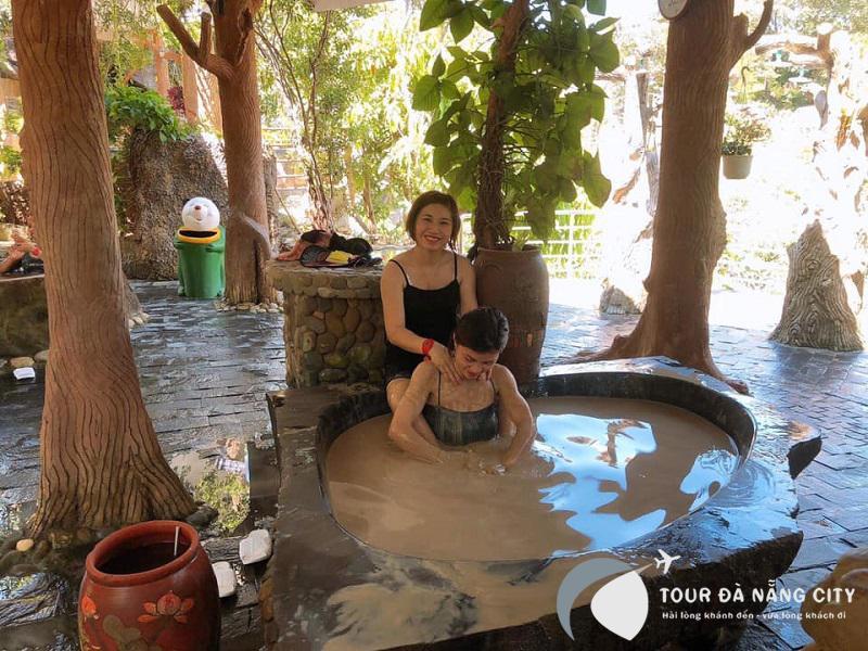tắm bùn tại Đà Nẵng