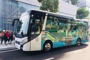 xe bus miễn phí từ đà nẵng đến vinpearl land nam hội an
