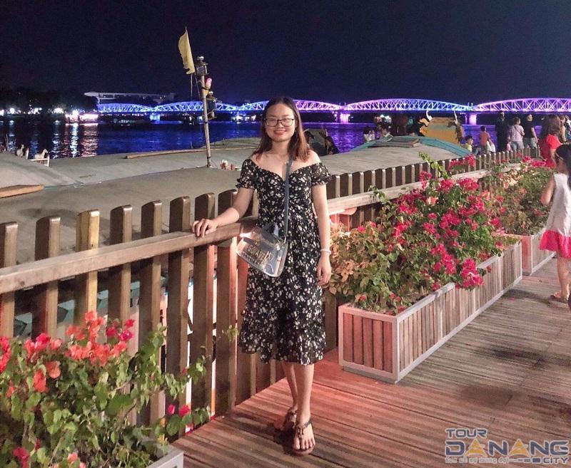Cầu Trường Tiền ở thành phố Huế