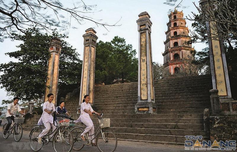 Chùa Thiên Mụ ở thành phố Huế