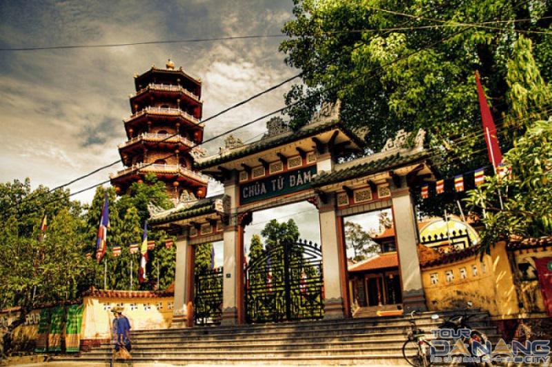 Chùa Từ Đàm ở thành phố Huế