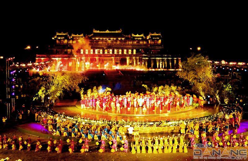 Festival ở thành phố Huế