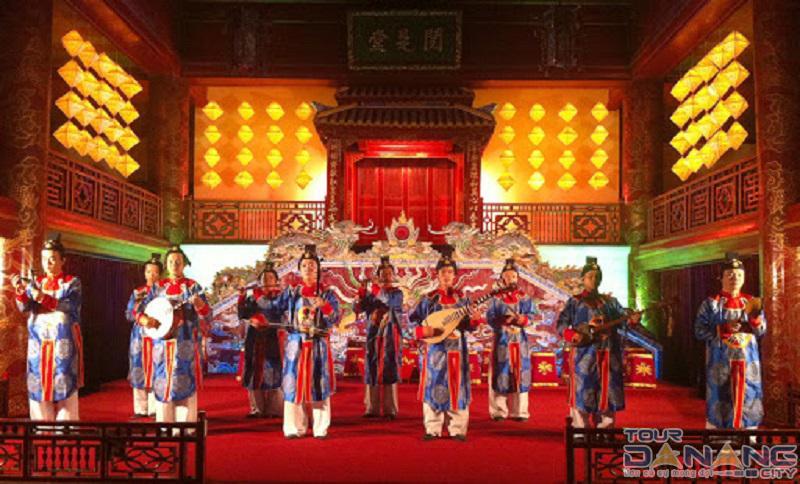 Nhã nhạc cung đình ở thành phố Huế