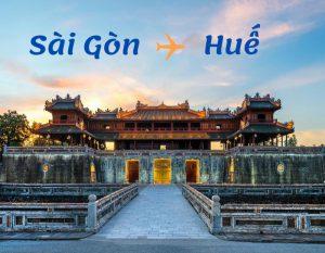 Đặt vé máy bay Sài Gòn Huế giá rẻ
