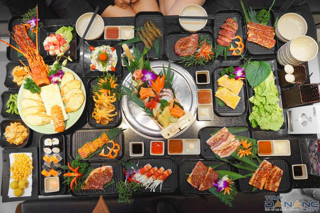 Ăn buffet ở Huế là chọn lựa tuyệt vời