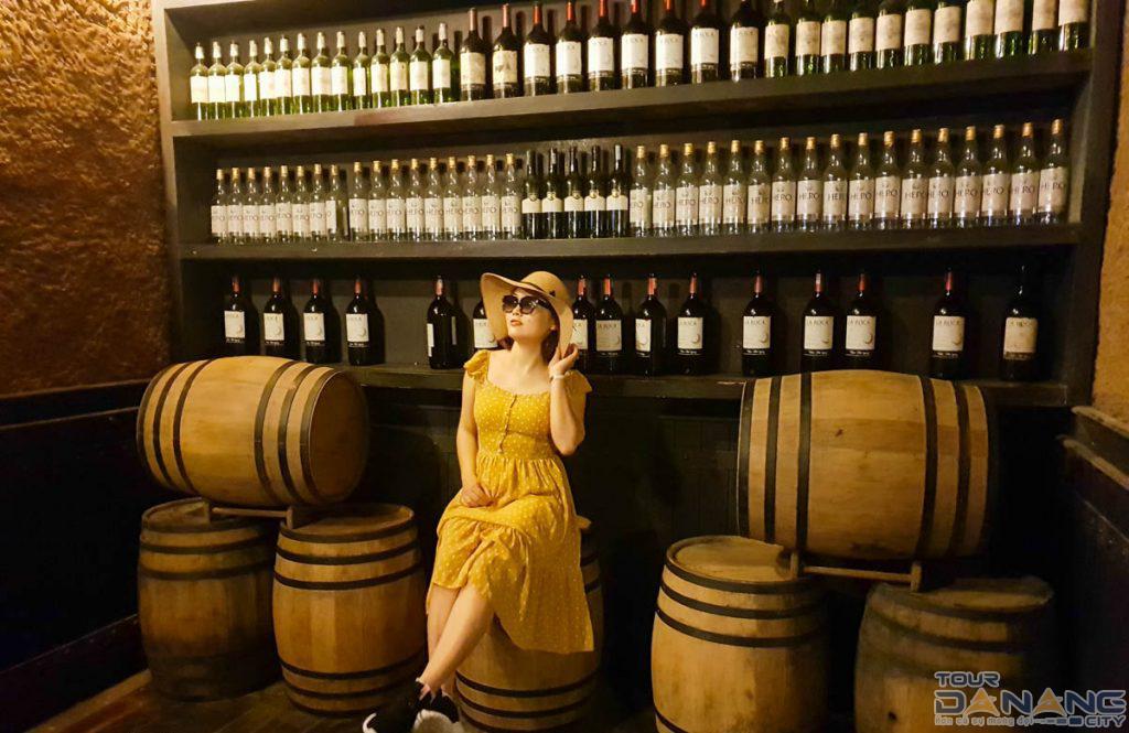 Các loại rượu ở Bà Nà Hills