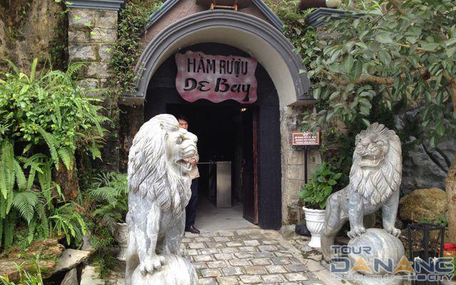 Kiến trúc hầm rượu ở Bà Nà