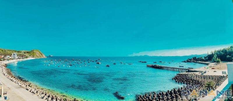 tàu ra đảo cù lao xanh
